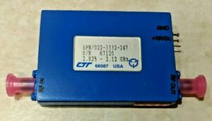 Ctt Solid State Amplifier Microwave Frequency Apn 022 3332 247 Nos 2 025 2 12 Gh