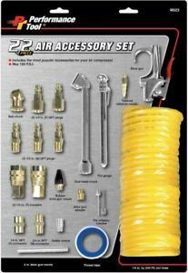 Performance Tool M523 Air Compressor Tire Inflation Tool Kit