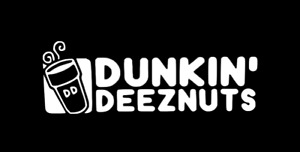Dunkin Deeznuts 8 Funny Car Laptop Truck Window Vinyl Decal Sticker 12 Colors