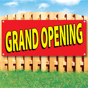 Grand Opening Advertising Vinyl Banner Sign Many Sizes Available Customize It