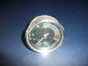 Porsche 356 Tachometer Normal Dated 12 56