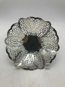 Footed Candy Dish By Lovelace International Silver Company 6 1 4 Diam