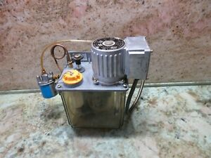Lube Corp Automatic Lubricator Mmx ii 005249 N 12 Lubrication Tank Pump System