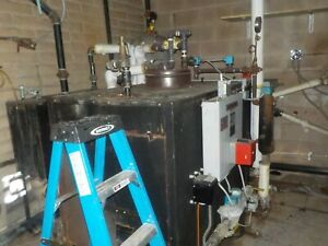 Dry Cleaning Boiler Industrial Goood Condition