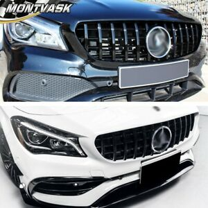 Gt Style Front Grille For 2014 2015 2016 Cla250 Mercedes Benz W117 Cla Class