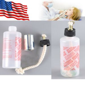 Usa 200ml Dental Lab Oral Jewelry Alcohol Lamp Torch Needle Flame Plastic Bottle