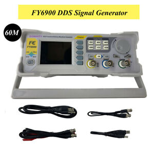 Dds Signal Generator Frequency Counter 0 01 100mhz Arbitrary Waveform Fy6900 60m
