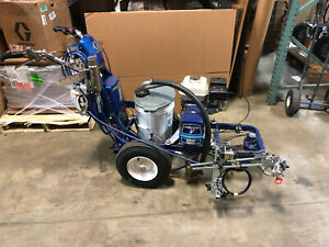Graco Linelazer V 5900 17h457 One Gun W New Gun Hose Pavement Marking