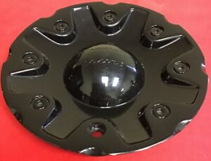 One Used American Racing Black Center Cap 1628200041 Wheel Center Cap 4942