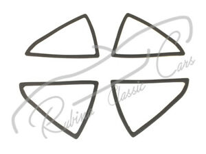 Seals Set For Lens Of Carello Tail Lights Lancia Flaminia Touring Gt Gtl Spider
