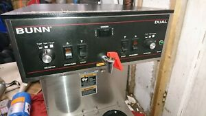 Bunn 20900 0010 Dual Brewer With Noportable Servers 120 208v 30 Amp 120 208