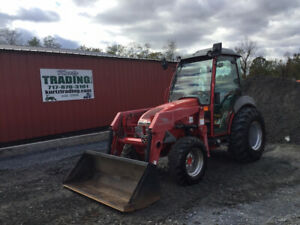 2006 Mccormick Gx50 4x4 50hp Compact Tractor W Cab Loader Only 900 Hours