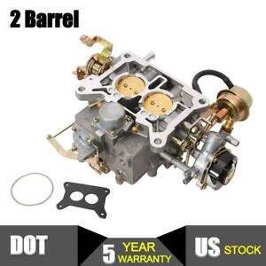 Two 2 Barrel Carburetor Carb 2100 A800 For Ford Mustang F150 289 302 351 Cu Jeep