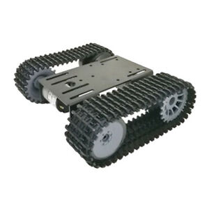 Robot Car Tank Chassis Kit With Dc Motors For Diy Toy Robot Parts