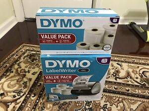Dymo Label Writer 4 Xl Thermal Label Printer New Open Box And Extra Label