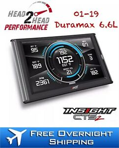 Edge Insight Cts2 Touch Screen Monitor For 2001 2019 6 6l Duramax Diesel 84130