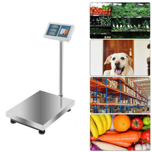 Heavy Duty 300kg 660lb Industrial Platform Postal Scale Weight Computing Scales