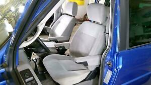 00 03 Vw Eurovan Heated Cloth Front Seat Set left right Grey Oem