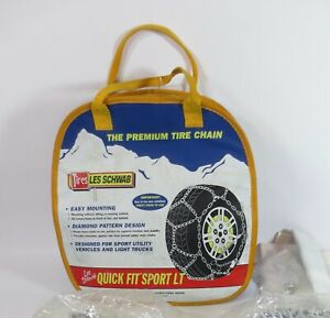 2318 s Les Schwab Snow Tire Chains 235 75r15lt P245 70r15 P225 75r16 New
