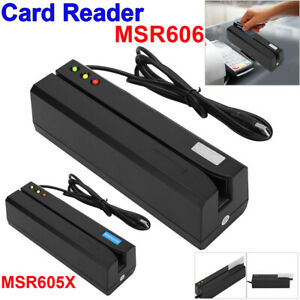 Msr605 Magnetic Stripe Card Reader Writer Encoder Credit Magstrip Msr206 Msr606