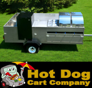 Hot Dog Cart Vending Concession Trailer Stand New California Hot Dog Cart Model