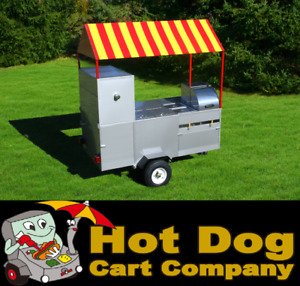 Hot Dog Cart Vending Concession Trailer Stand New Short Limo Hot Dog Cart Model