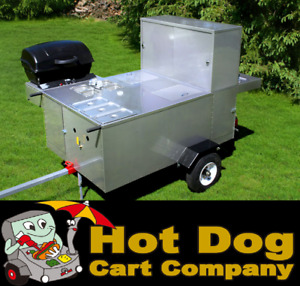 Hot Dog Cart Vending Concession Trailer Stand New Patagonia Hot Dog Cart Model