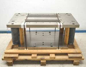 New Platten Plate Huge Stamping Punch Die Press 4 slot Frame Tooling 25w X 45 l