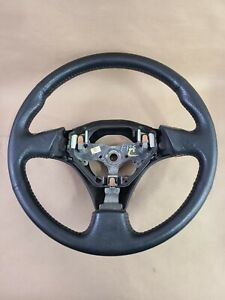 1998 2002 Toyota Corolla S Steering Wheel Red Stitches