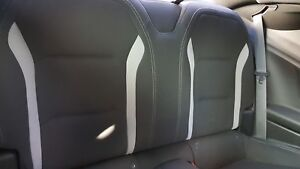 18 Camaro Cloth Rear Seats Coupe