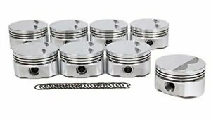 8720 4000 D s s Racing Sbf 4 000 In Bore E Series Forged Piston 8 Pc P n
