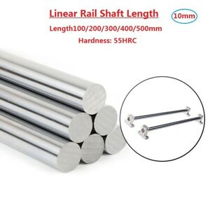 Od10mm Cylinder Liner Rail Linear Shaft Optical Axis Length100 200 300 400 500mm