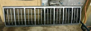 Jeep Cherokee Xj Grille Assembly Oem 1988