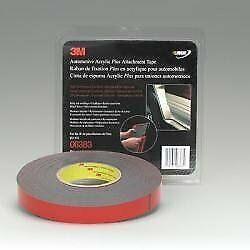 6383 3m Automotive Acrylic Plus Attachment Tape 7 8in X 20 Yard Roll Model