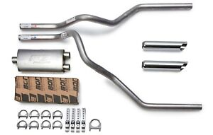 2009 2019 Chevy Silverado Borla Proxs Mandrel Dual Truck Exhaust Kit Chrome Tips