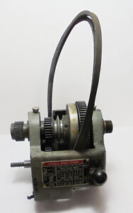 Atlas 12 Commercial Lathe Head Stock Assembly