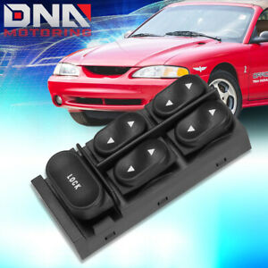 For 1994 2004 Ford Mustang Convertible Driver Side Master Power Window Switch