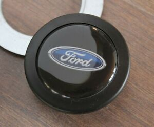 Horn Button Ford Badge Fits Momo Sparco Raid Nardi Steering Wheel Sport