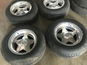 Eagle Alloy Aluminum Wheels 15x8 Set Of Four