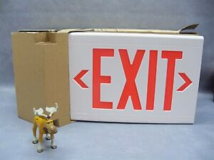 Exit Sign Lxurwe Hubbell Led Emergency Lighting