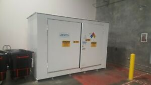Chemical Storage Cabinet With Sump Freestanding Enclosed