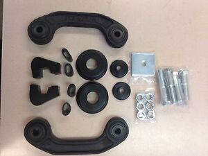 1953 1954 1955 1956 Ford Pickup Complete Cab Mounting Kit Arms Bushings Bolts