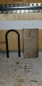 New Old Stock Jeep Willys U Bolt For Leaf Springs Mb Gpw Cj2a Cj3a M38