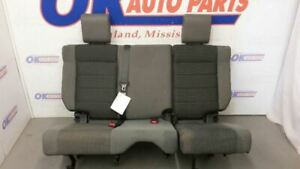 2007 Jeep Wrangler Unlimited Jku Rear Seat Gray Cloth 6040 Split Bench