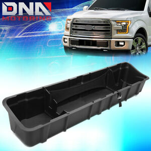 For 2015 2019 Ford F150 Crew Cab Underseat Storage Box Tool Organizer Tray Bin