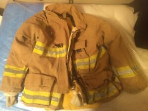 Morning Pride Firefighter Turnout Jacket Chest 46 Length 30 36 Sleeve 34 0 2006