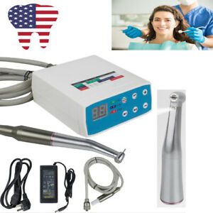 Portable Dental Micromotor 1 5 Speed Increasing Led Contra Angle Handpiece Us Ce