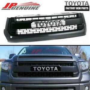 Genuine Toyota 13 16 Tundra Trd Pro Oem Front Grill Grille 53100 0c260 B1 1g3