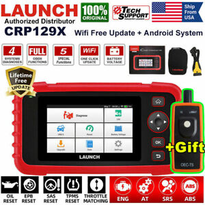 Launch X431 Crp129x Car Diagnostic Tool Obd2 Abs Srs Engine Scanner Code Reader