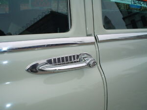Door Handle Guards 1949 Thru 1954 Chevrolet Cars
